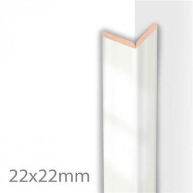MOULURE PLIABLE SUPER BLANC BRILLANT     22X22X2600 MM