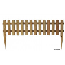 BORDURE A PLANTER 32X280-1,10M PIN CL  4 PIN  TRAITE CLASSE 4