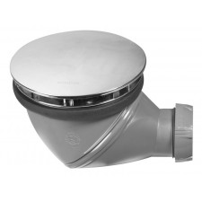 BONDE DOUCHE JAMES D90 DOME ABS CHROME   SORTIE D40 REF. 30720722
