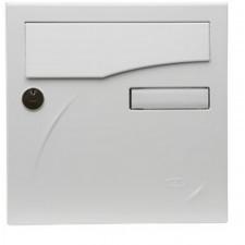 BOITE AUX LETTRES PREFACE COMPACT BLANC  285X285X150 MM