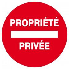 PANNEAU PROPRIETE PRIVEE D.300