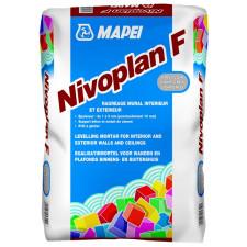 NIVOPLAN F GRIS CLAIR SAC DE 25 KG       RAGREAGE MURALE HAUTE PERFOR INT EXT
