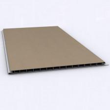 LAMBRIS PVC INT BRUN CLAIR 2700X250X10MM INTERIEUR BRUN CLAIR