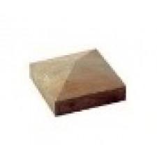 CHAPEAU POTEAU PTE DIAMANT CL4 110X110MM PIN  TRAITE CLASSE 4