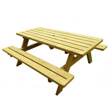 TABLE PIQUE NIQUE EPICEA CL3             HS TT 155X177 PLATEAU EP45 LO1770 LA740