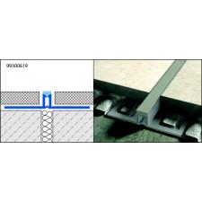 JOINT FRACTIONNT 5MM P.COLLEE 250CM 10MM PROFILE CARRELAGE BI-5 1004