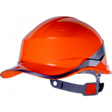CASQUE CHANTIER ABS ORANGE DIAMONDV