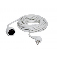 RALLONGE DOMESTIQUE BLANCHE 3M           CABLE HO5VVF 3G1,5